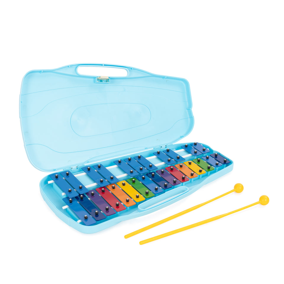 Percussion Workshop 27 colour note chromatic glockenspiel with case