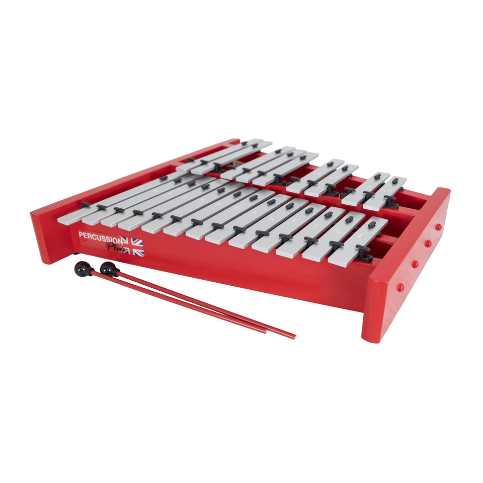 Alto glockenspiel - 1.5 octave, fully chromatic