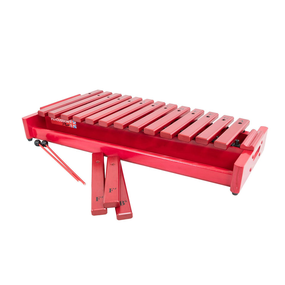 Soprano xylophone, soprano c major scale