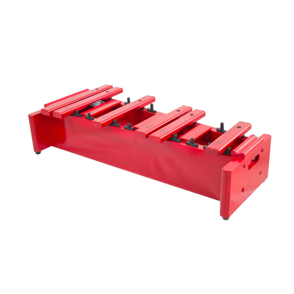 Classic red box soprano xylophone chromatic half only