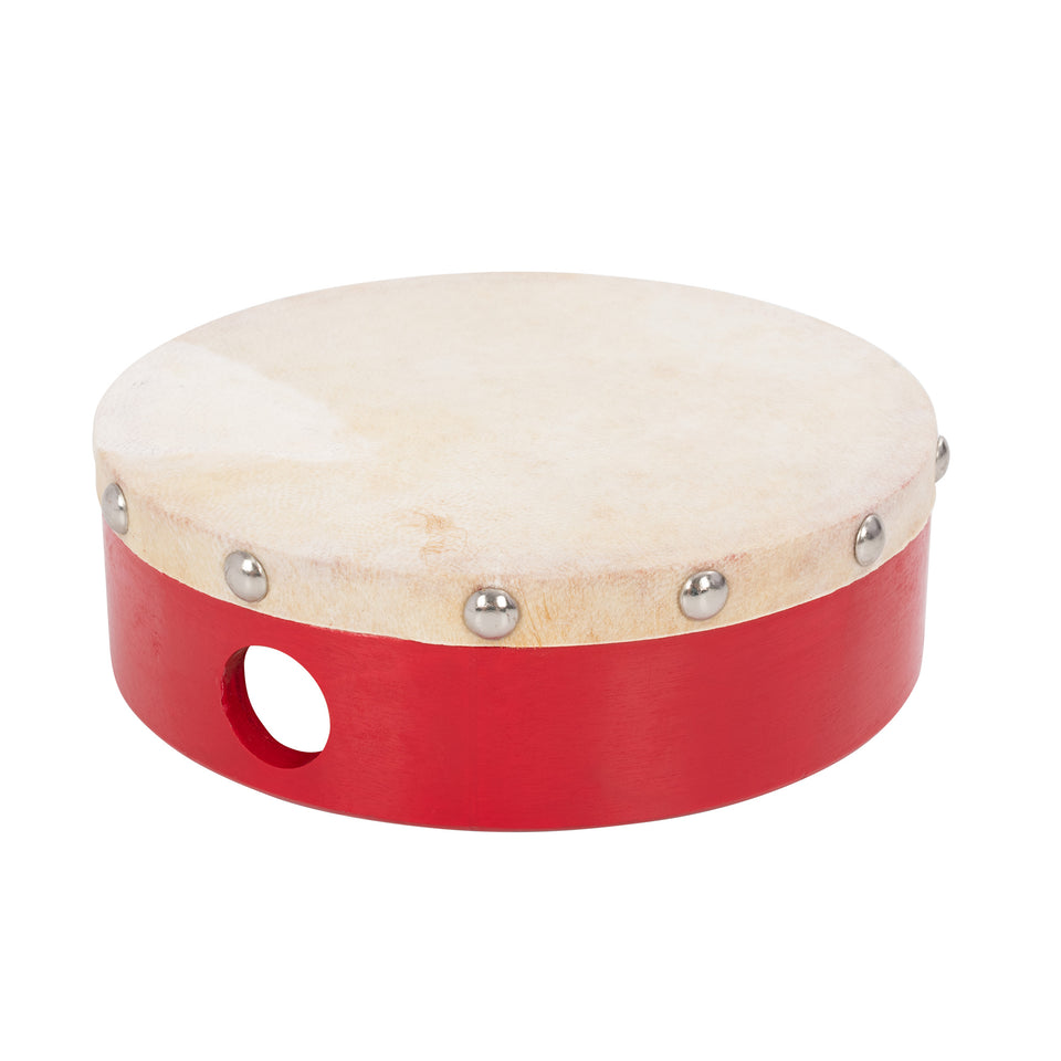Tambour with wooden shell - 6