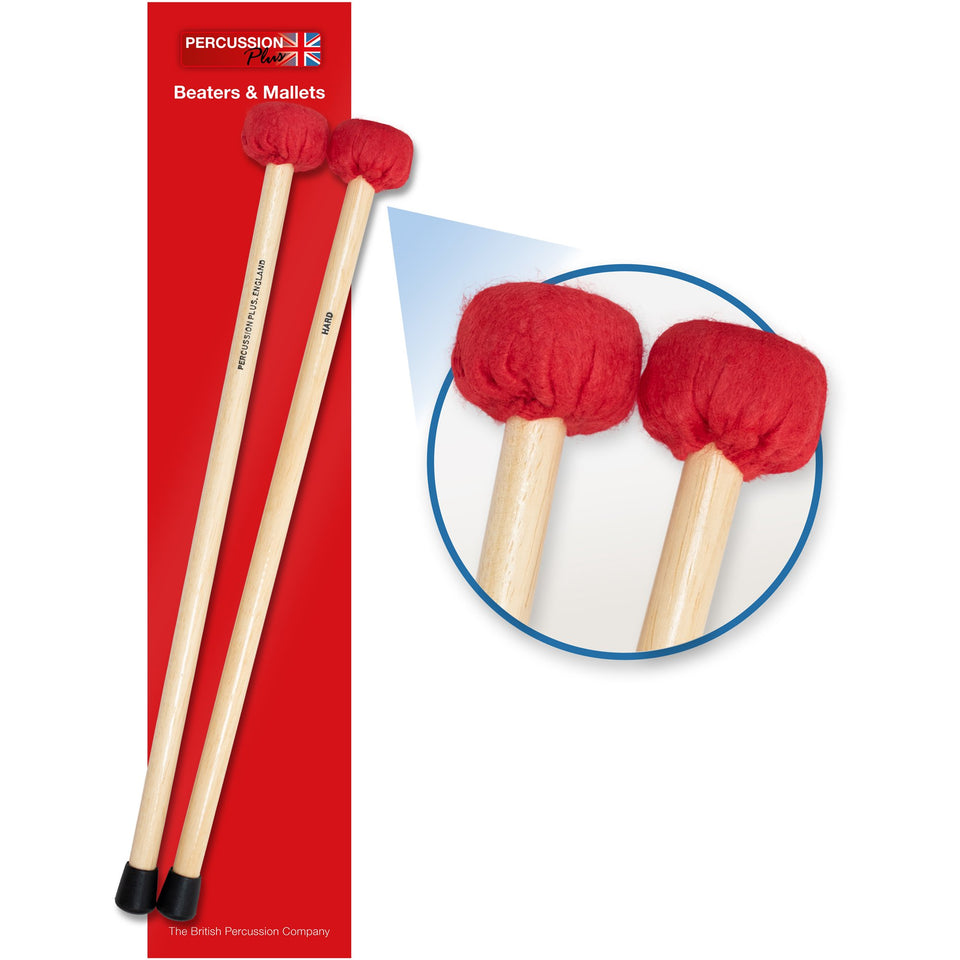 Hard timpani mallets