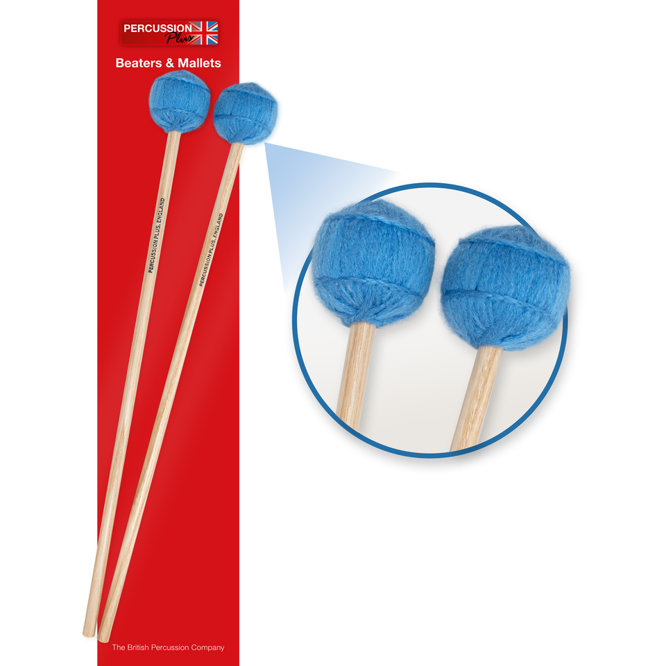 Pair of wool mallets - soft