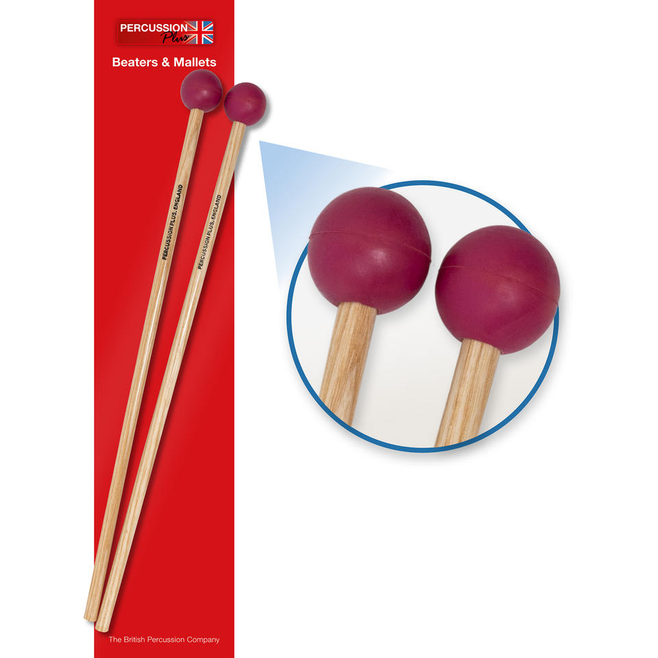 Professional xylophone mallets - hard