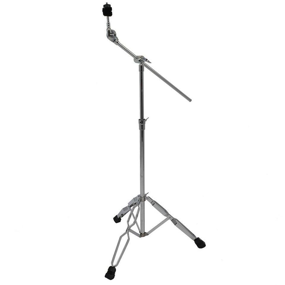 Double braced cymbal boom stand
