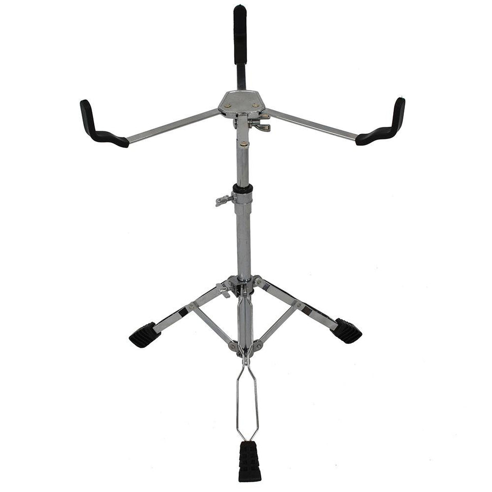 Double braced snare drum stand