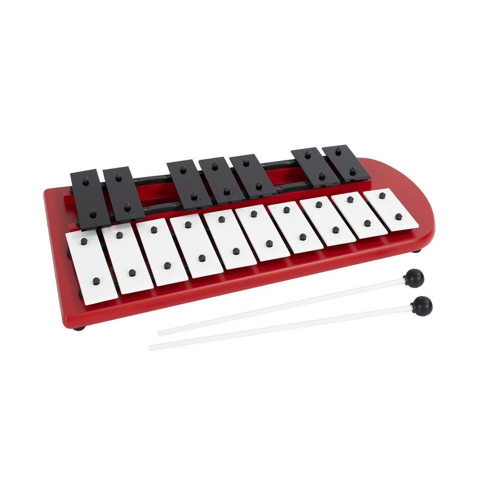 17 note chromatic glockenspiel with 2 beaters