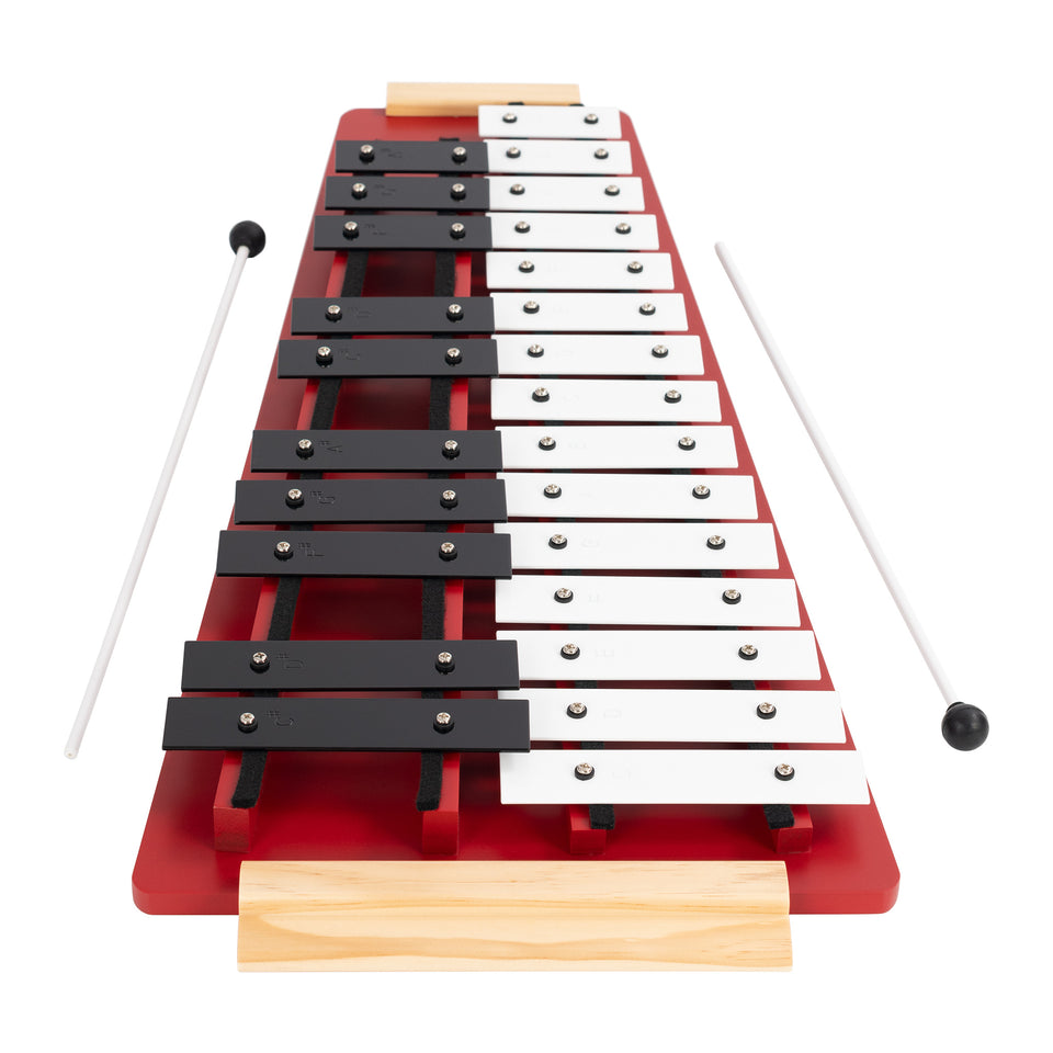 25 note glockenspiel supplied with 2 beaters