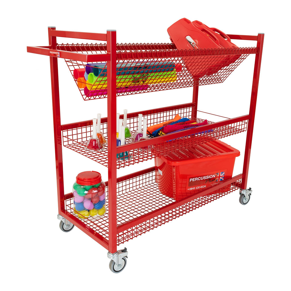 Mobile instrument trolley