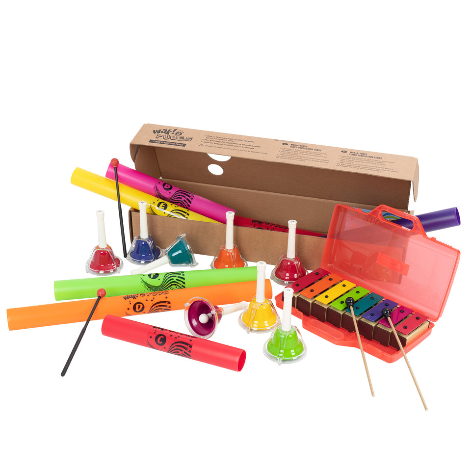 Colour & play percussion kit