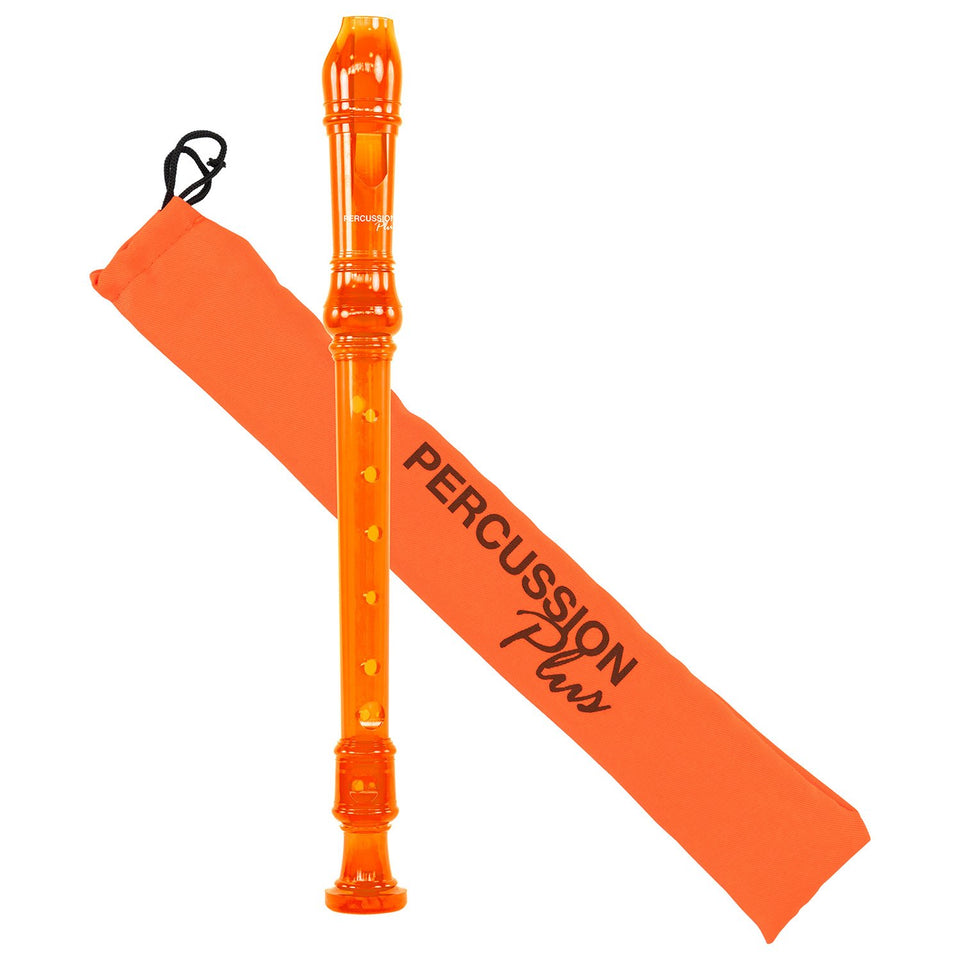 Descant recorder - Transparent orange
