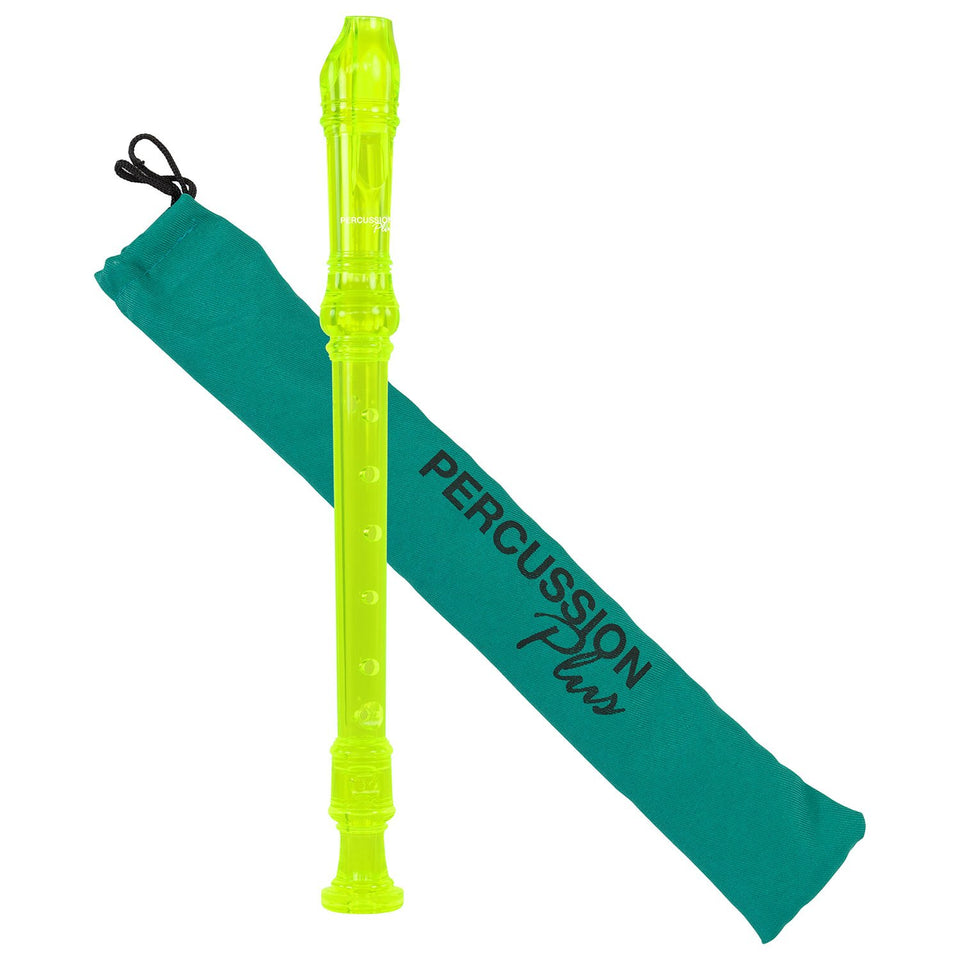 Descant recorder - Transparent green