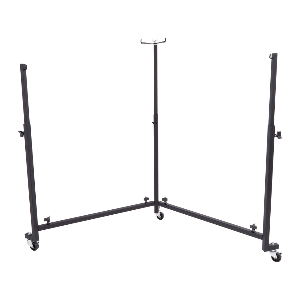 Percussion Plus Import Series double steel pan stand