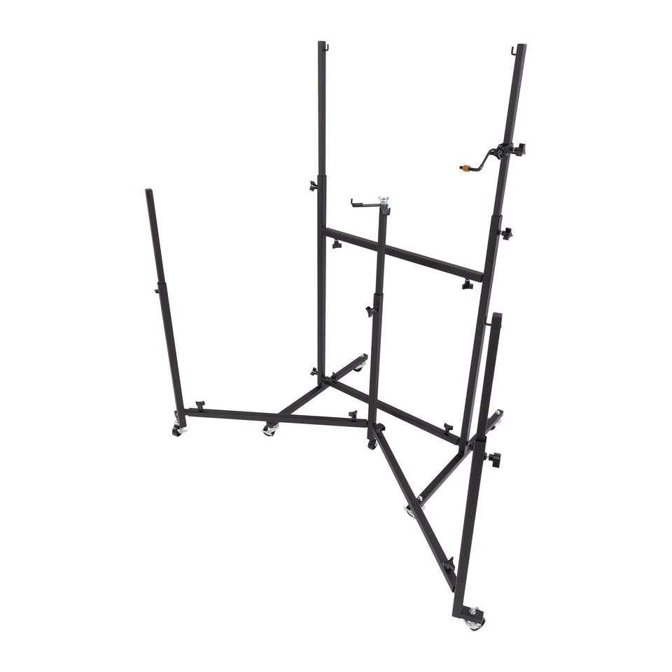 Percussion Plus Import Series triple cello steel pan stand