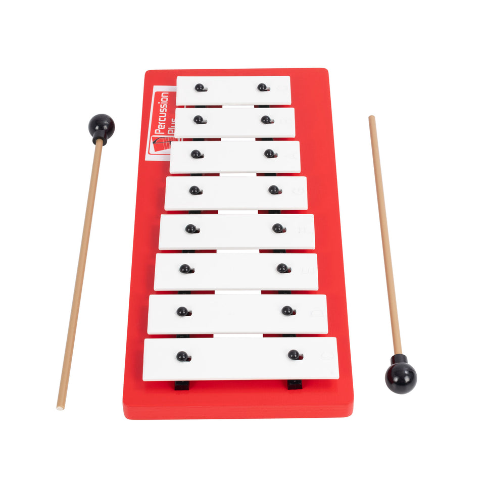Diatonic wide note glockenspiel