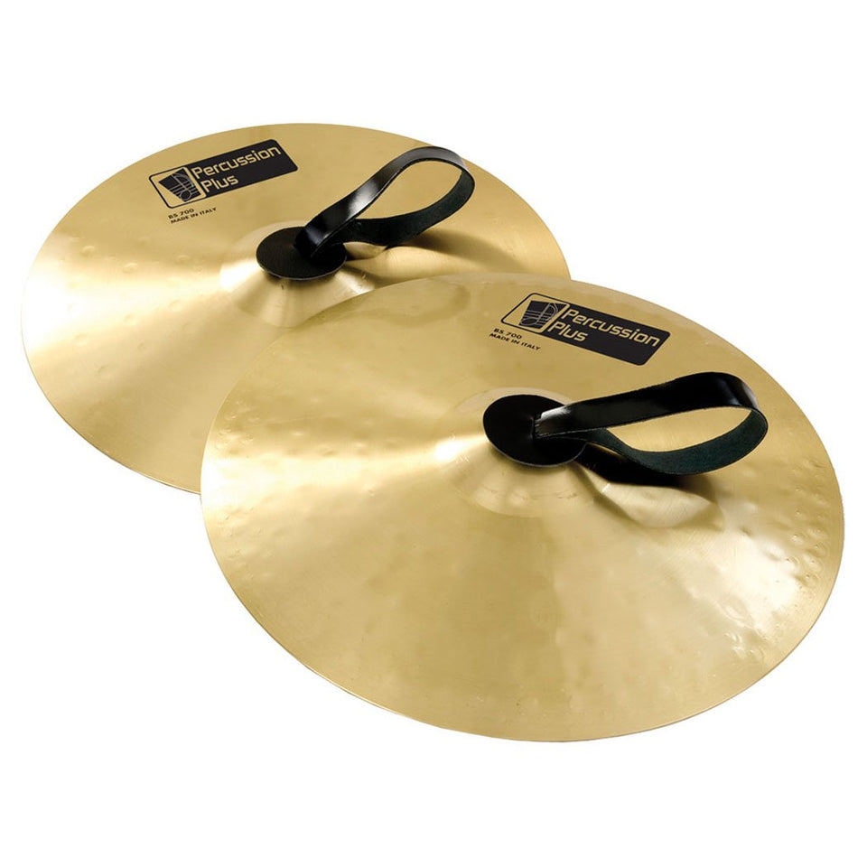 Pair of school cymbals - 12