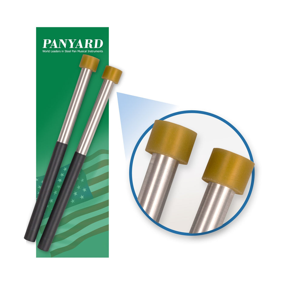 Panyard classic aluminium double second steel pan mallets