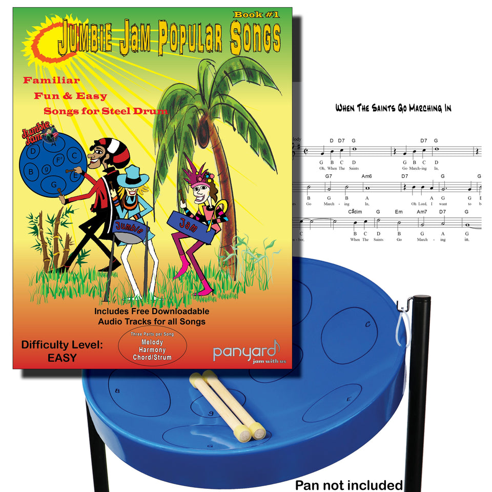 Jumbie Jam - Popular Song Book 1 - steel pan