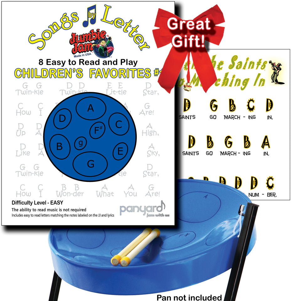 Jumbie Jam - Songs By Letter Childrens Favourites for steel pan