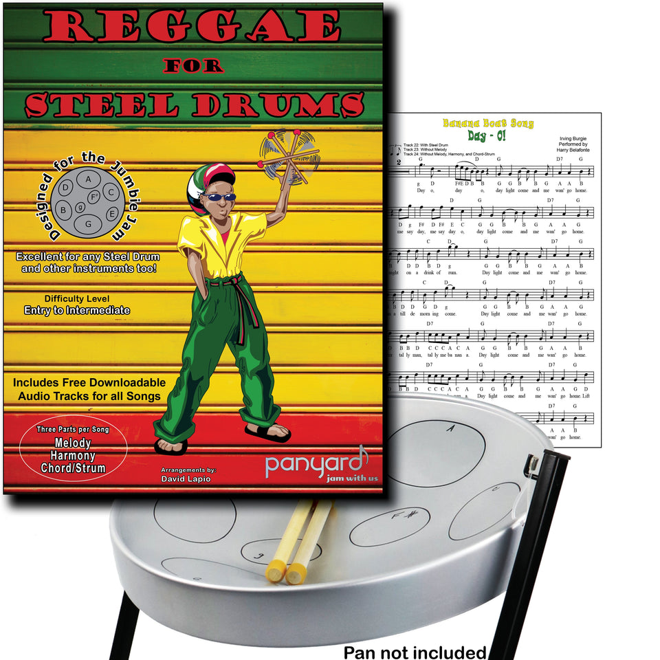 Jumbie Jam - Reggae for steel pan