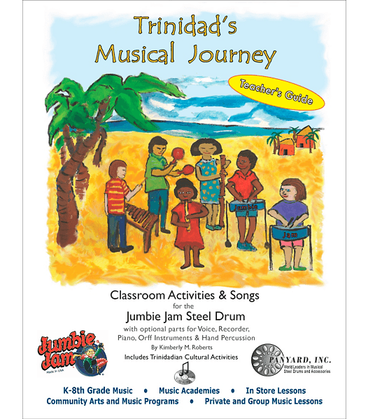 Trinidads Musical Journey Teachers Guide Book & CD - steel pan