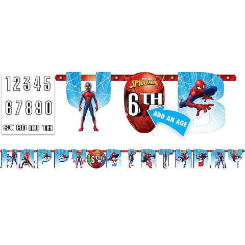 Ultimate Spider-Man Deluxe Birthday pack for 16 Guests