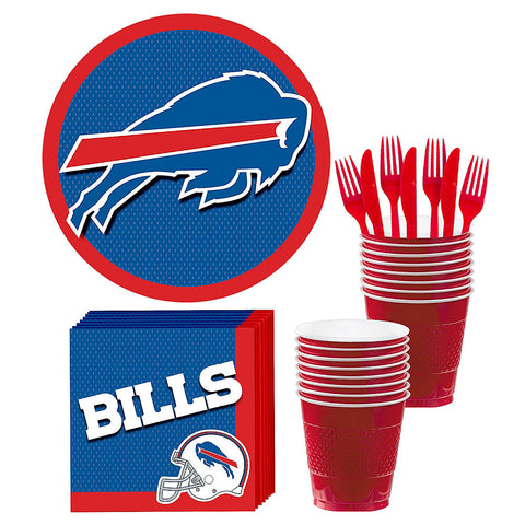 Buffalo Bills Deluxe Birthday pack for 18 Guests