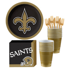 New Orleans Saints Deluxe Birthday pack for 18 Guests
