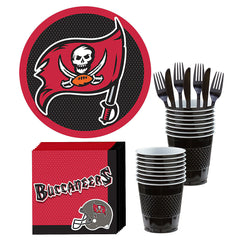 Tampa Bay Buccaneers Deluxe Birthday pack for 18 Guests