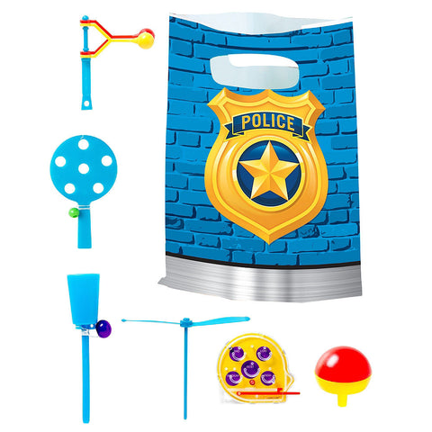 Police Basic Deluxe Birthday pack for 8 Guests
