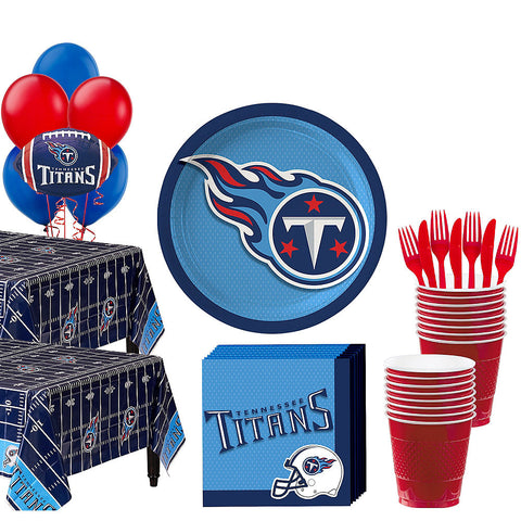 Super Tennessee Titans Deluxe Birthday pack for 36 Guests