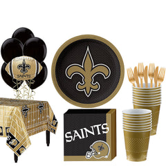 Super New Orleans Saints Deluxe Birthday pack for 18 Guests