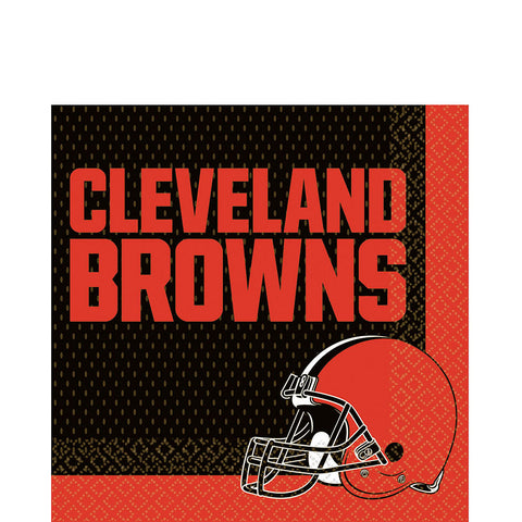 Cleveland Browns Deluxe Birthday pack for 18 Guests