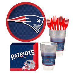 New England Patriots Basic Deluxe Birthday pack for 18 Guests