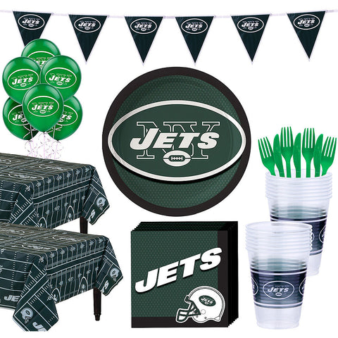 Super New York Jets Deluxe Birthday pack for 36 Guests
