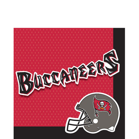 Super Tampa Bay Buccaneers Deluxe Birthday pack for 18 Guests
