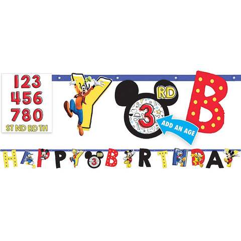 Mickey Mouse Deluxe Birthday pack for 24 Guests