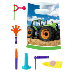 Tractor Basic Deluxe Birthday pack for 8 Guests