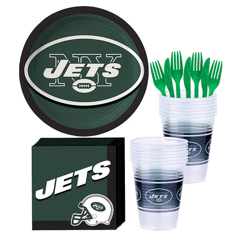 New York Jets Deluxe Birthday pack for 18 Guests