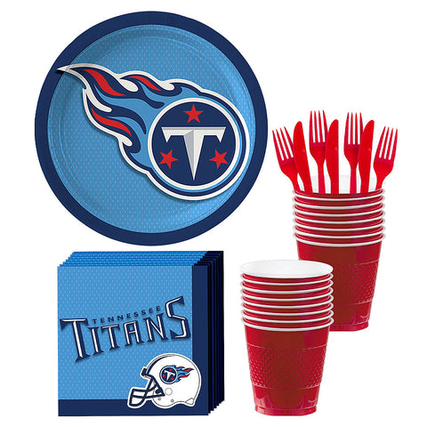 Tennessee Titans Deluxe Birthday pack for 18 Guests