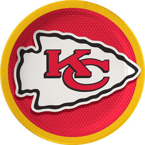 Super Kansas City Chiefs Deluxe Birthday pack for 18 Guests