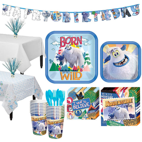 Smallfoot Deluxe Birthday pack for 16 Guests