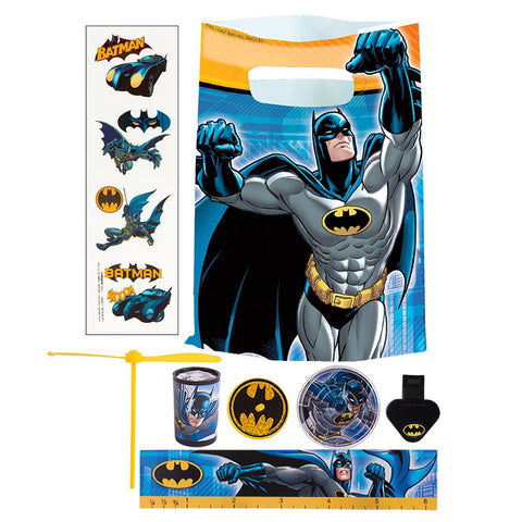 Batman Deluxe Birthday pack for 8 Guests