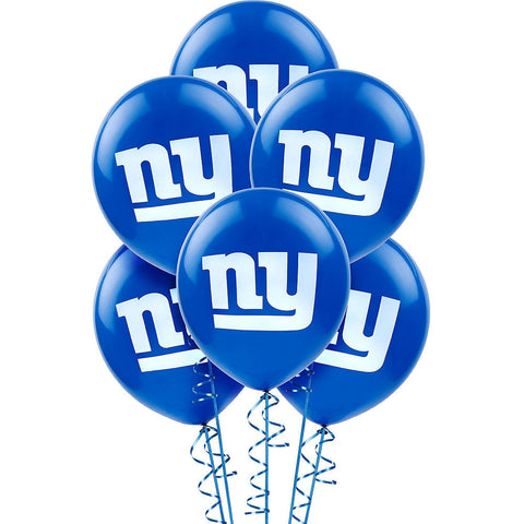 Super New York Giants Deluxe Birthday pack for 36 Guests
