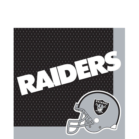 Oakland Raiders Deluxe Birthday pack for 18 Guests