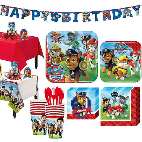 PAW Patrol Deluxe Birthday Pack for 16