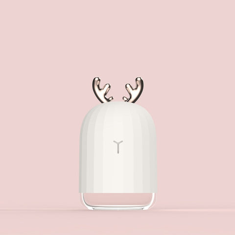 Hot New Ultrasonic Reindeer Air Humidifier Aroma Essential Oil Diffuser  with LED Night Lamp