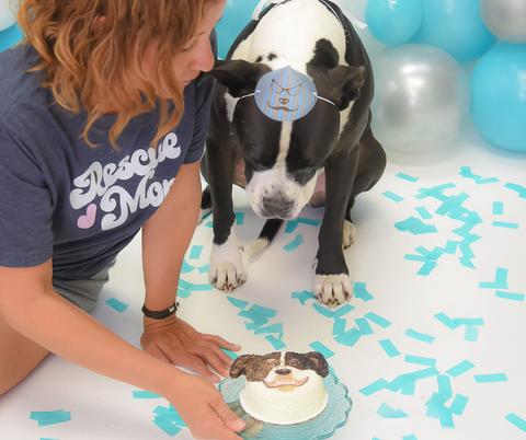 Spotted Dog Bakery Portrait Cake