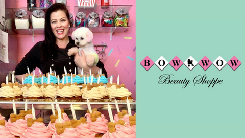 Owner of Bow Wow Beauty Shoppe and Logo