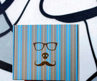 Pupstache Dog Birthday Party Box - Pawty Box